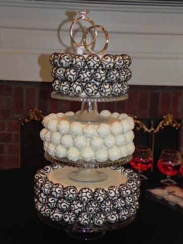 Image result for wedding cake pops